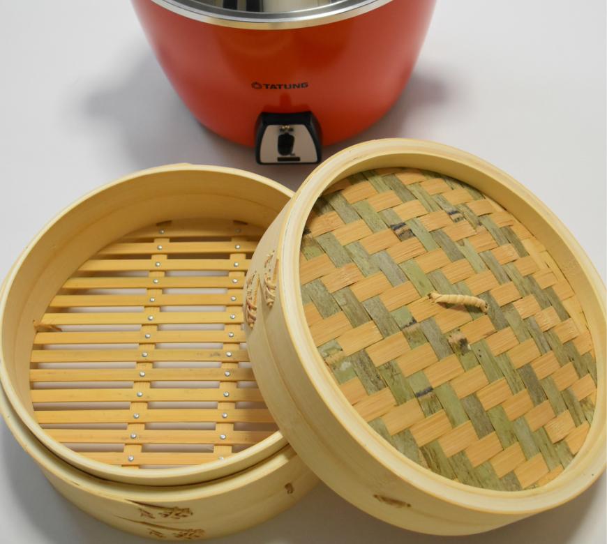 台湾 竹製せいろ 本体と蓋セット 大同電鍋10合10人用(電鍋は含みません)