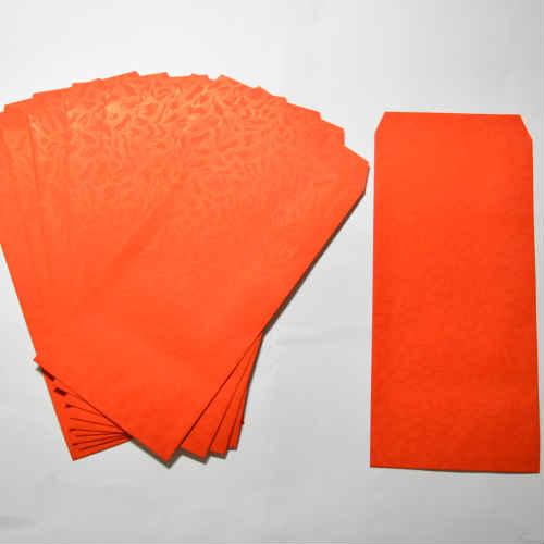 台湾 紅包(ホンパオ)大 10枚セット お祝い袋 お年玉袋